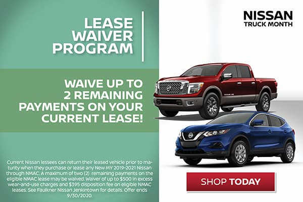 Lease Waiver Program