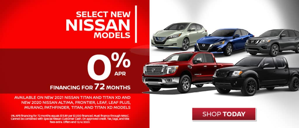 0% Financing on Select New 2020 Models