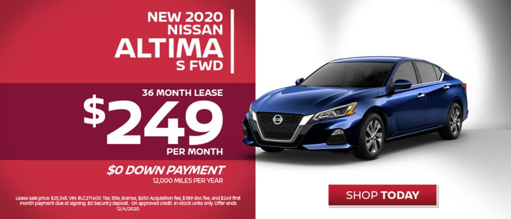 New 2020 Nissan Altima Lease
