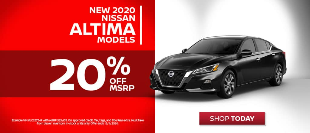 New 2020 Nissan Altima Buy