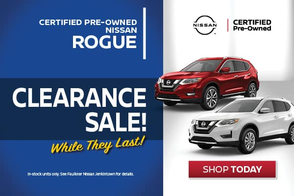 Certified Pre-Owned Rogue Clearance Sale