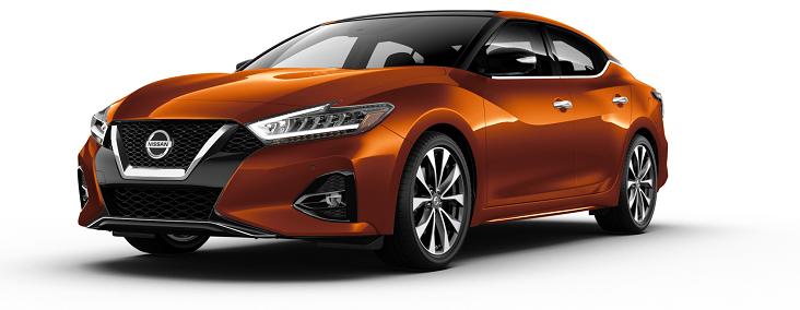 2020 Nissan Maxima Orange