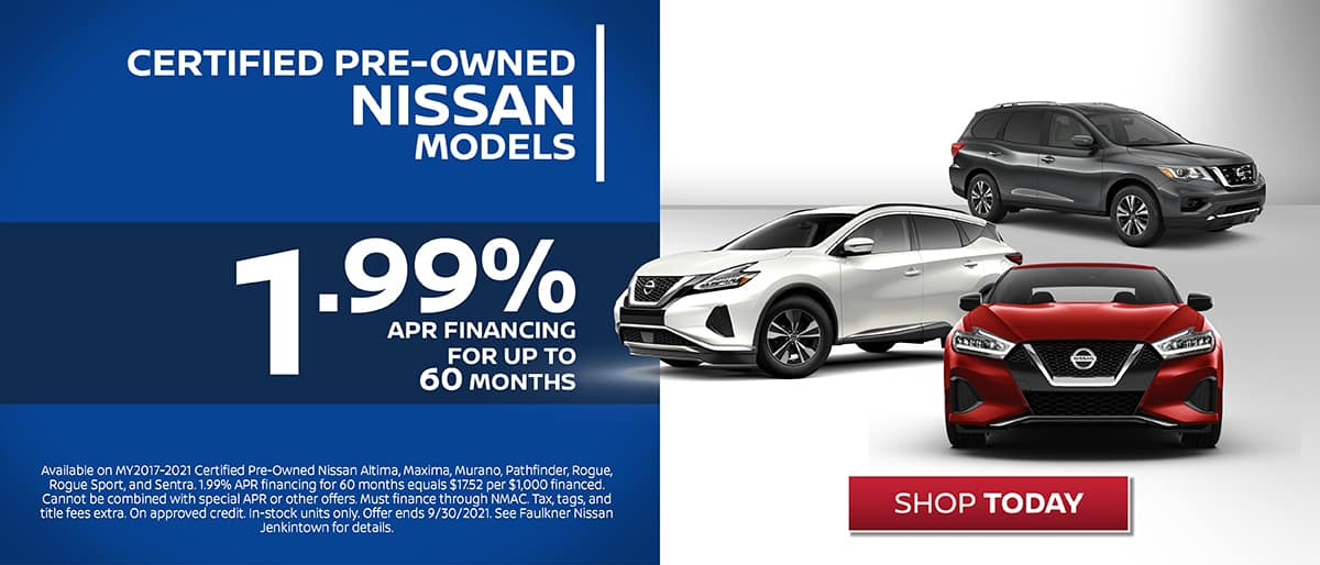 Shop Nissan Certified Pre-Owned