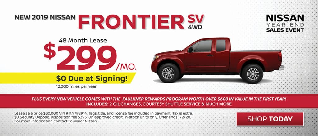 Frontier Lease Special