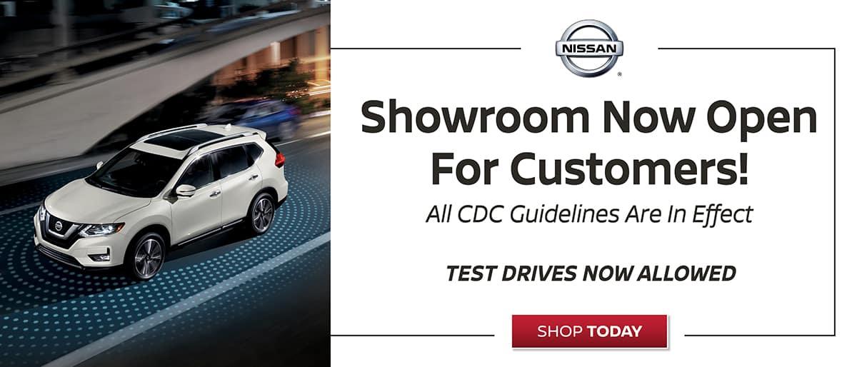 Faulkner Nissan Showroom Now Open