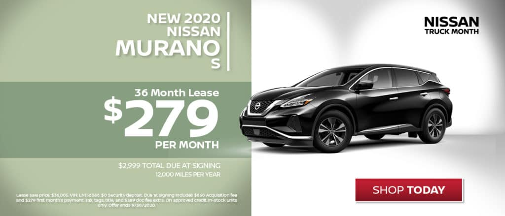 Murano Lease Special!