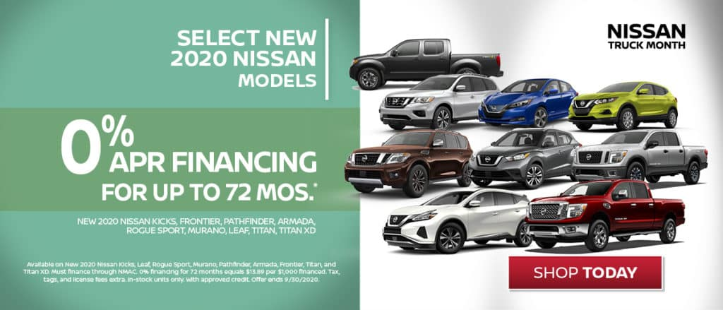 Special Financing on New Nissans