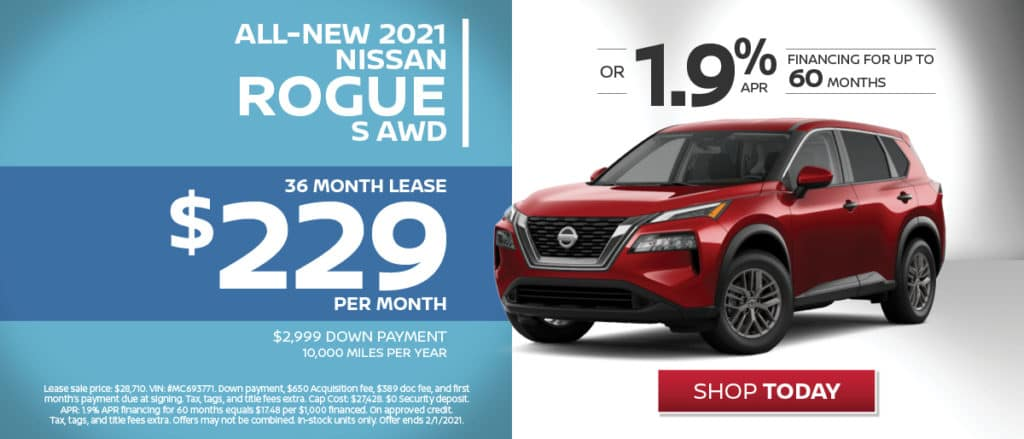 All-New 2021 Nissan Rogue