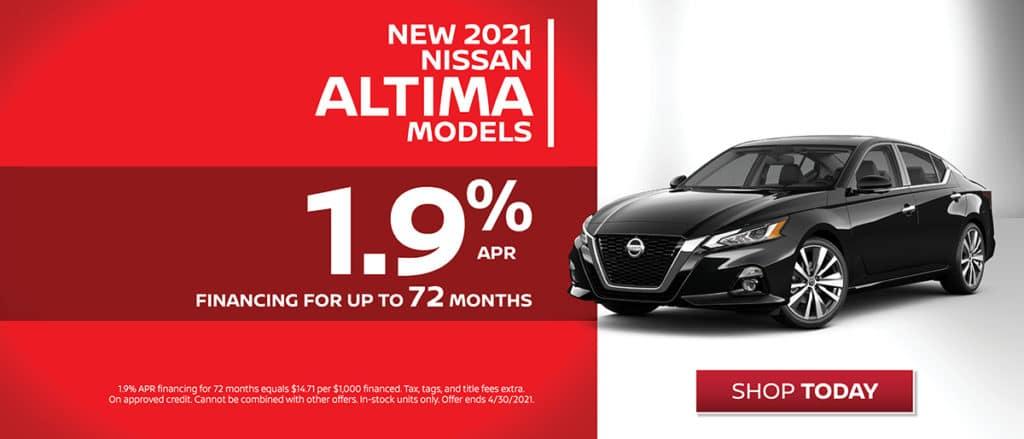New 2021 Nissan Altima Financing