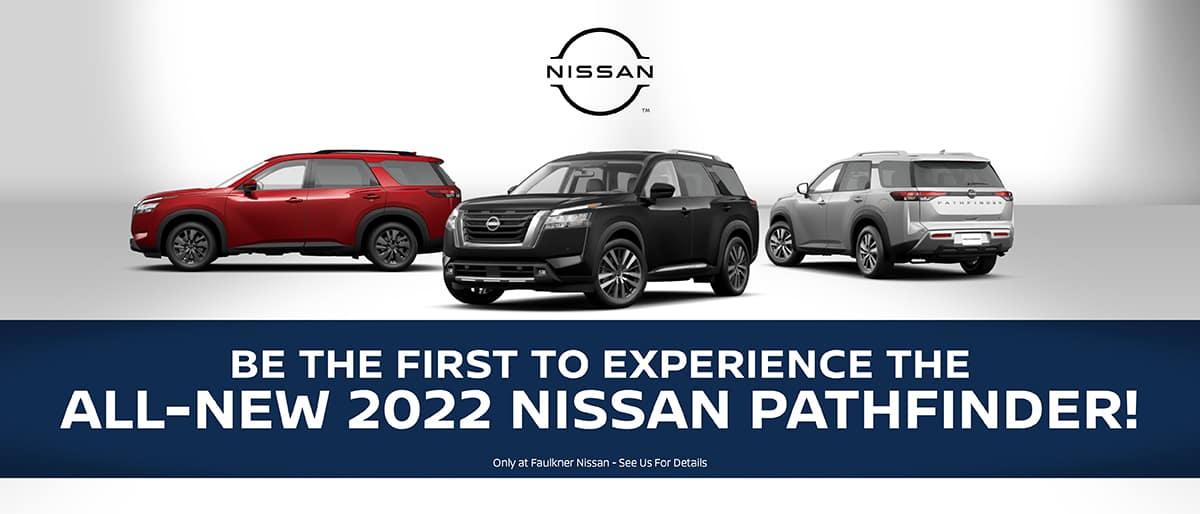 Shop All-New 2022 Nissan Pathfinder