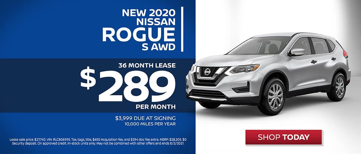 Shop New 2020 Nissan Rogue