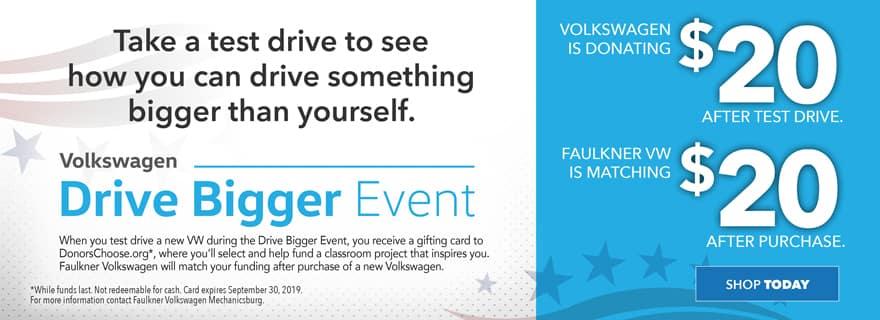 Drive Bigger Event