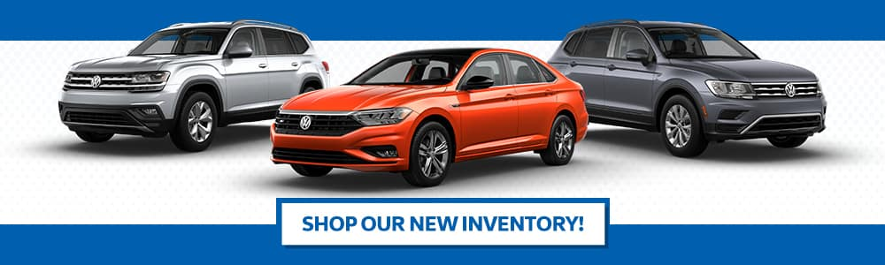 New VW Inventory