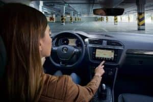 VW Tiguan Interior Technology