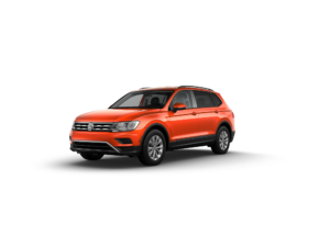 VW Tiguan Habanero Orange Metallic