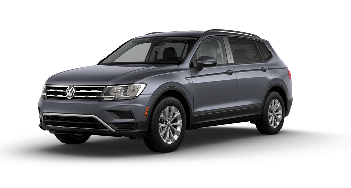 VW Tiguan Platinum Gray Metallic