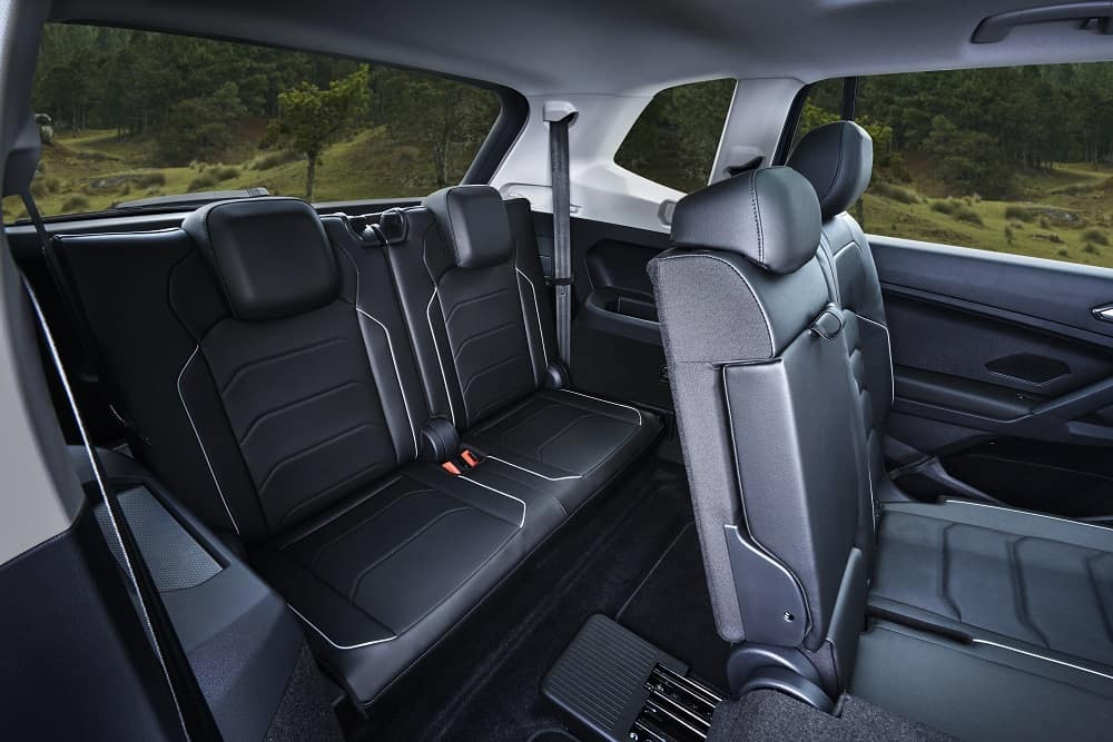 VW Tiguan Interior Leather Seats