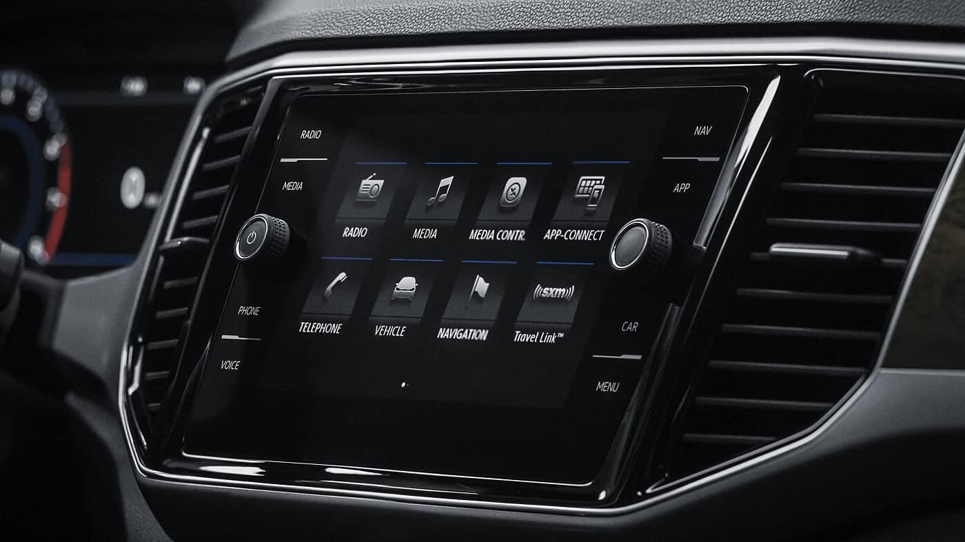 VW Atlas Interior Infotainment