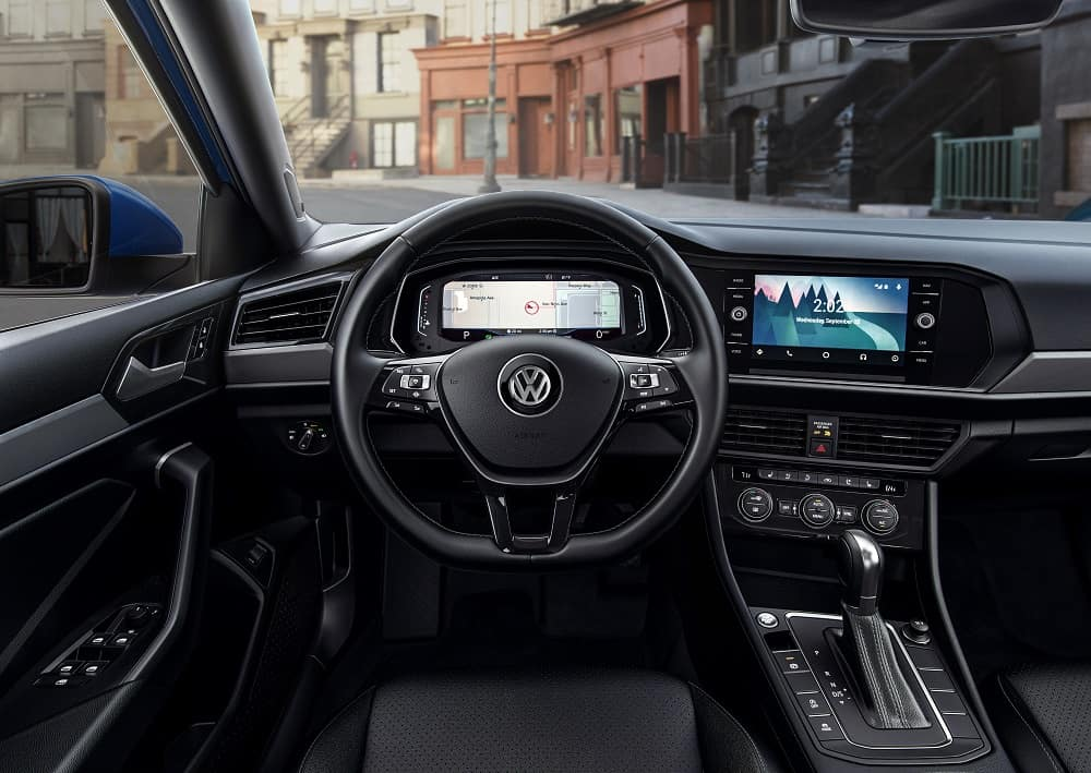 VW Jetta Interior Technology