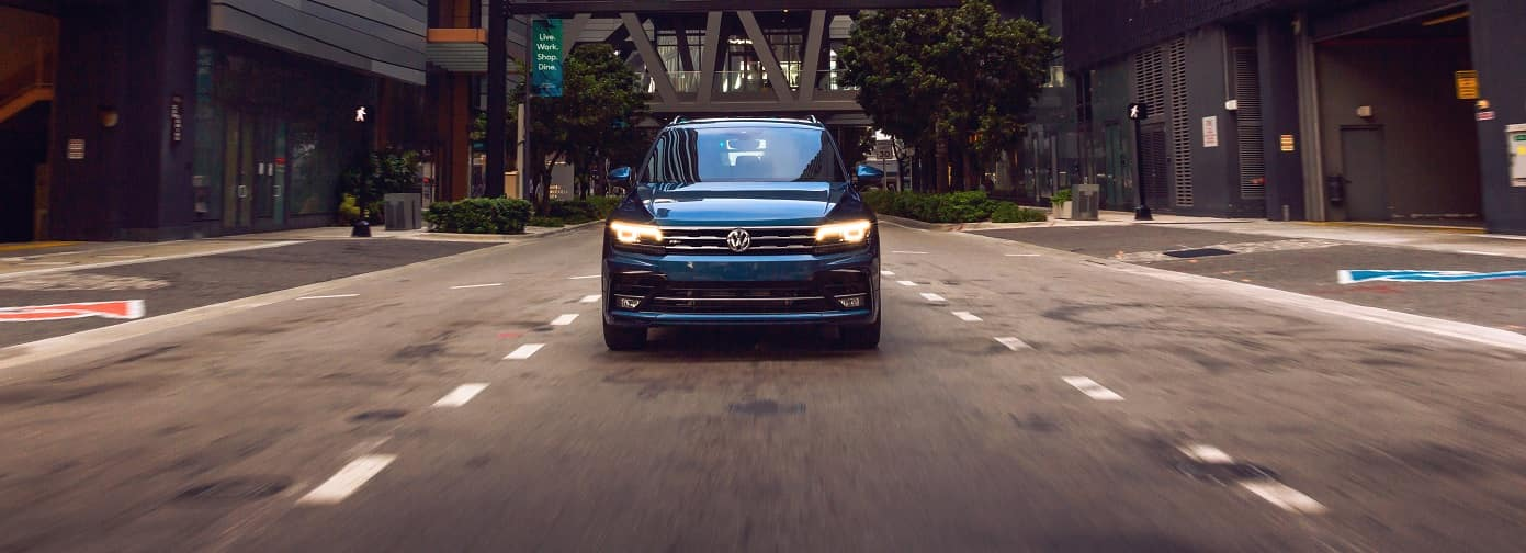 VW Tiguan reviews