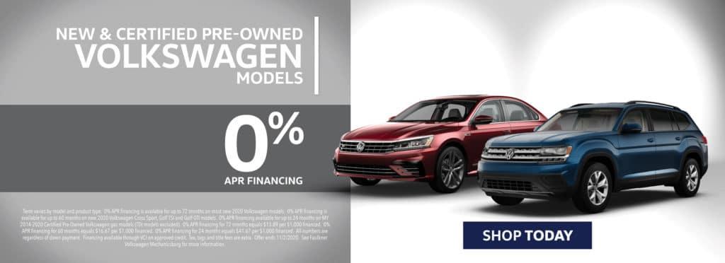 Special Financing on Volkswagen