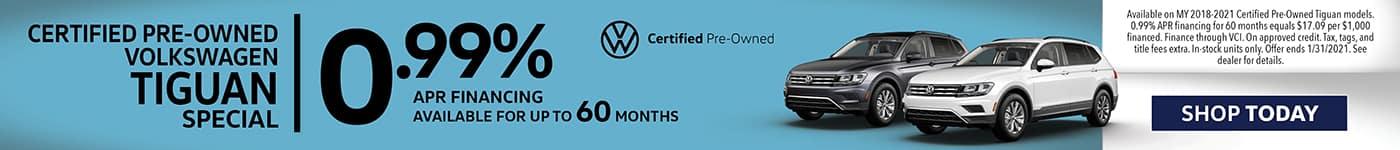 Certified Pre-Owned Volkswagen Tiguan