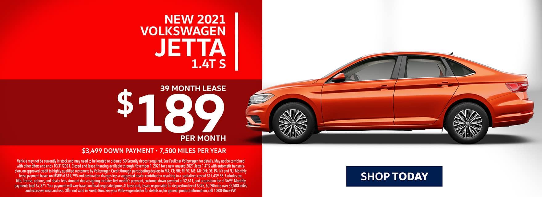 New 2021 Volkswagen Jetta