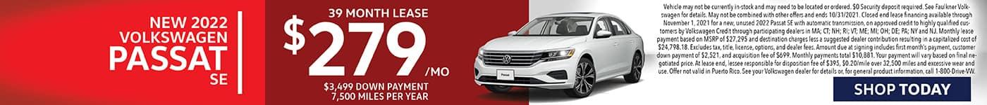 New 2022 Volkswagen Passat