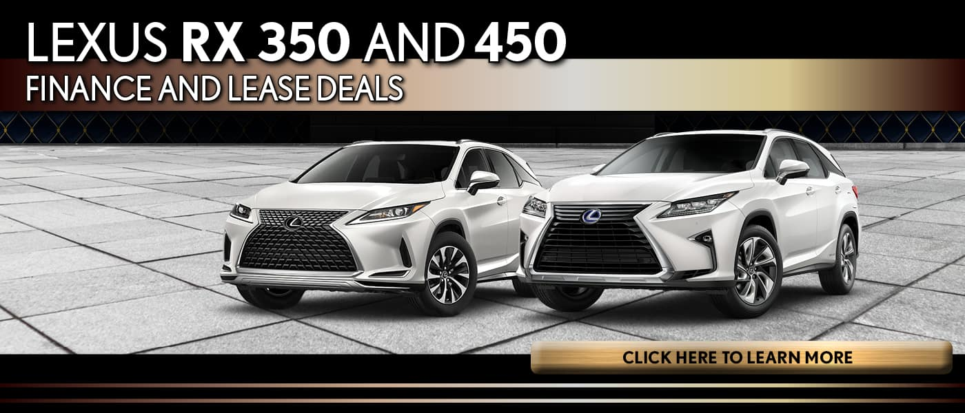 Lexus RX Lease and Finance Deals