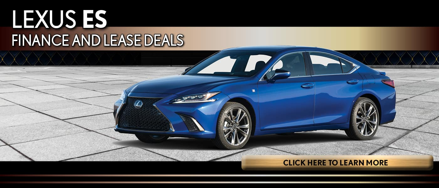 Lexus ES Lease and Finance Deals