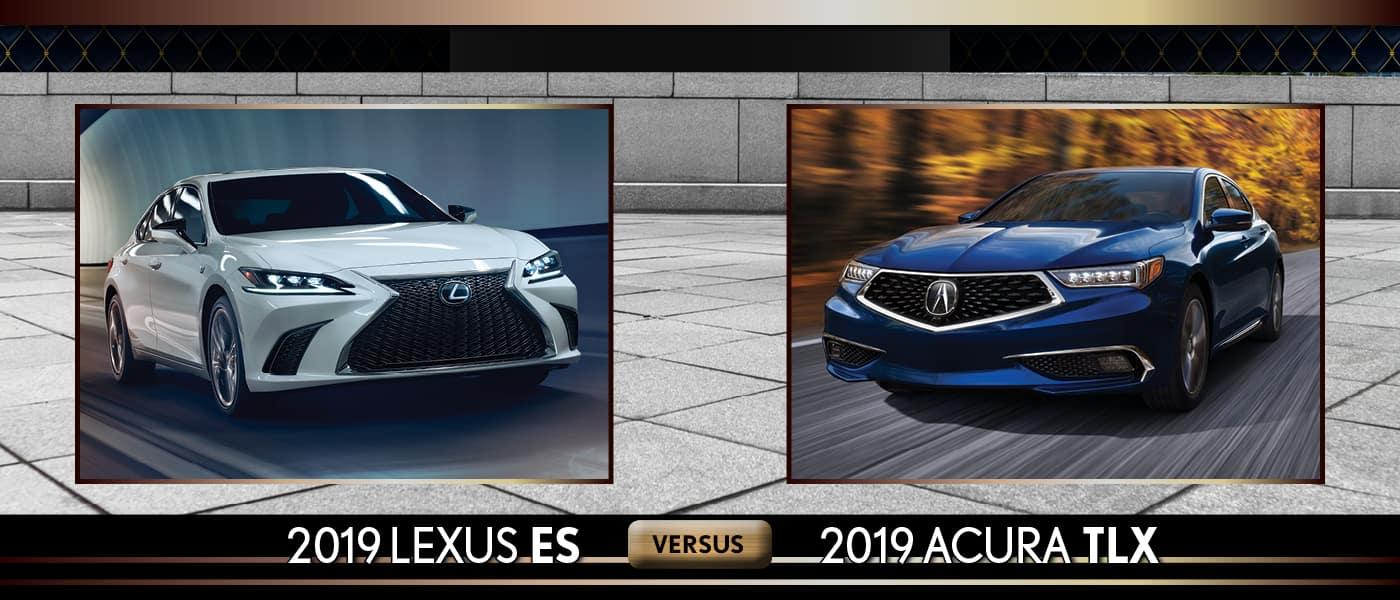 2019 Lexus ES vs. Acura TLX