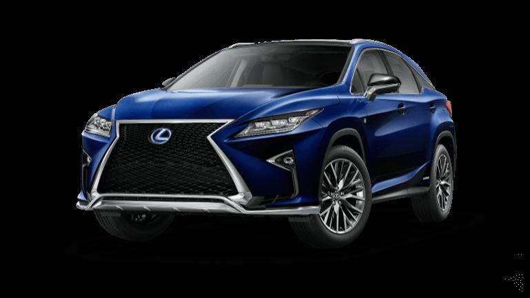 2019 Lexus RX 450 F SPORT - Nightfall Blue