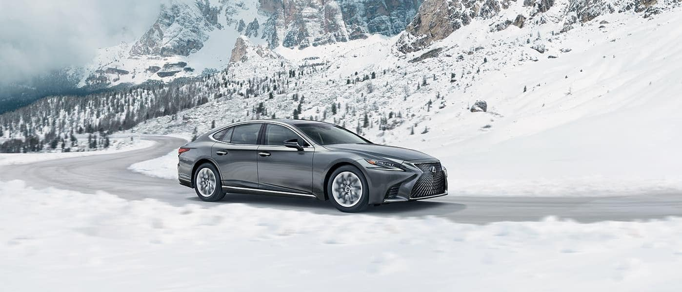 2019 Lexus LS in Gray