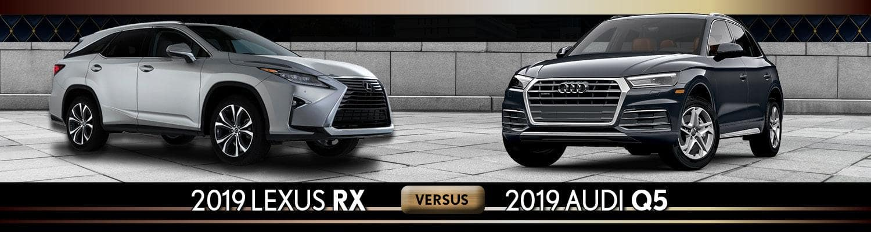 2019 lexus rx vs 2019 audi q5