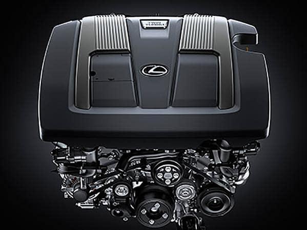 2019 lexus ls engine image