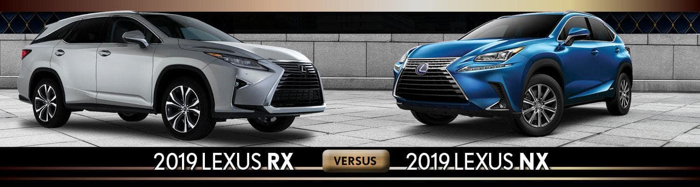 Lexus Nx Vs Rx >> 2019 Lexus Rx Vs Nx Near Bonita Springs Fl Germain Lexus