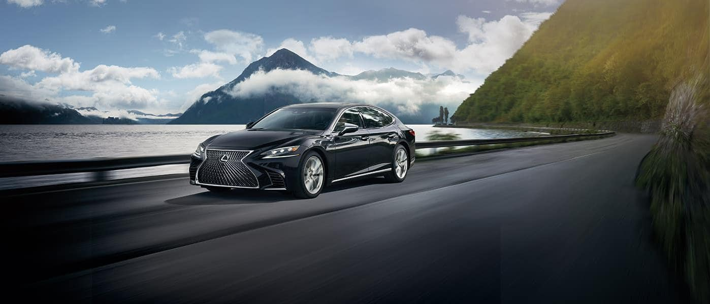 2019 lexus ls in black