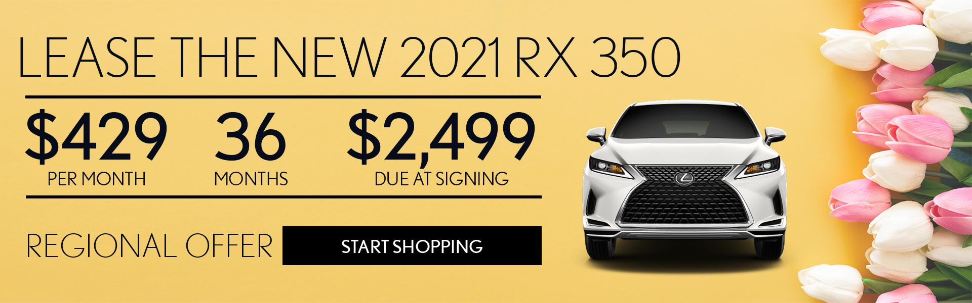 2021 RX – 1920 x 600