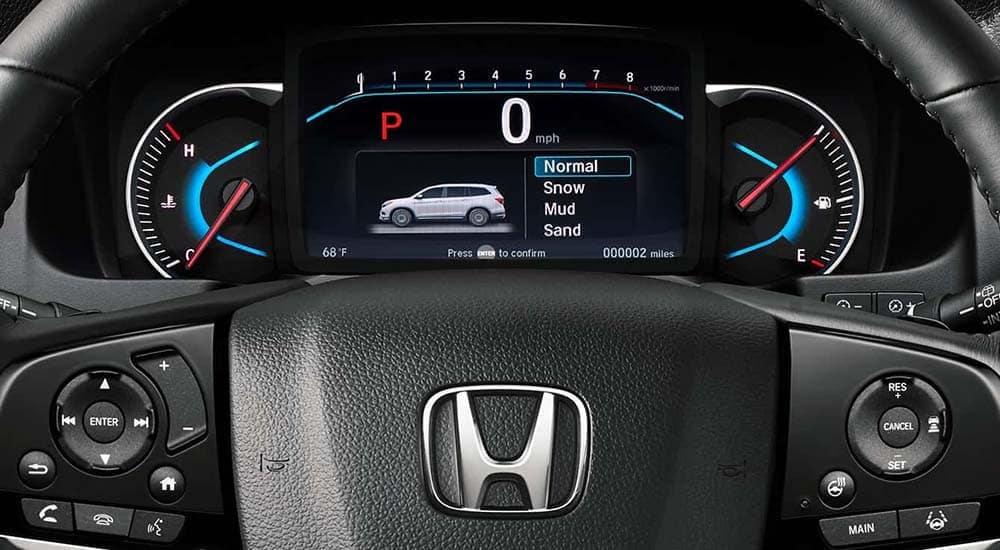 2019 Honda Pilot Steering Wheel