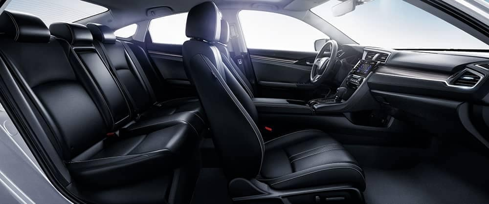 2020 Honda Civic Sedan interior seating
