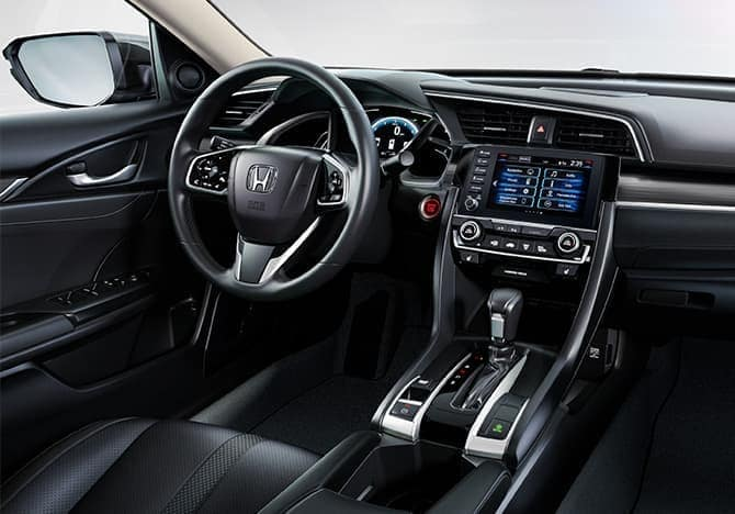 2020 Honda Civic sedan interior