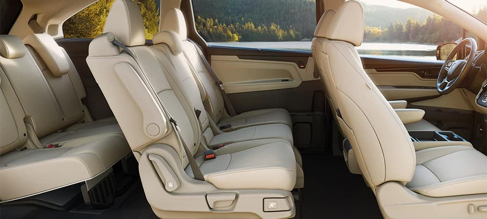 Honda Odyssey Interior Seating Side Profile
