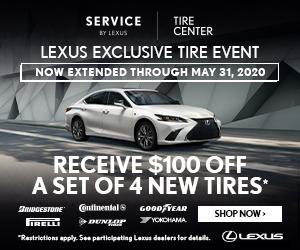 Lexus Tire Promo