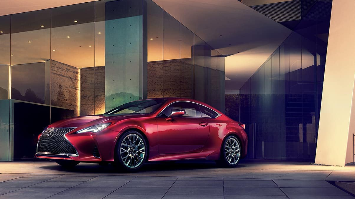 2020 Lexus RC infrared