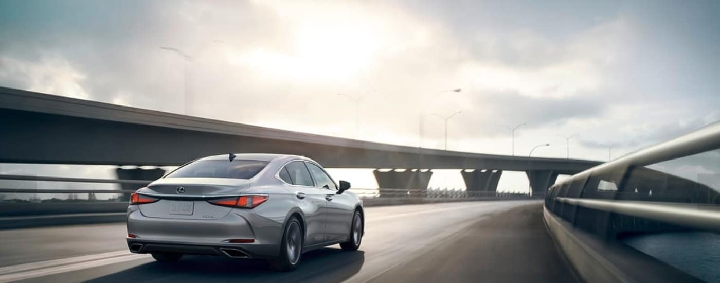2020 Lexus ES 350 on Road