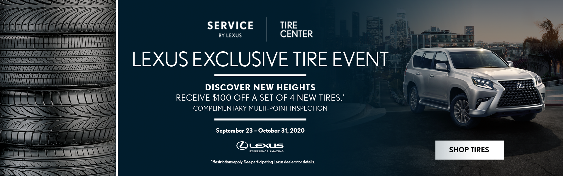 October Tire Event – Hompepage Banner (1)