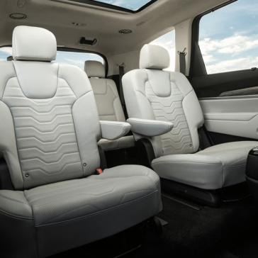 2020 Kia Telluride Seating