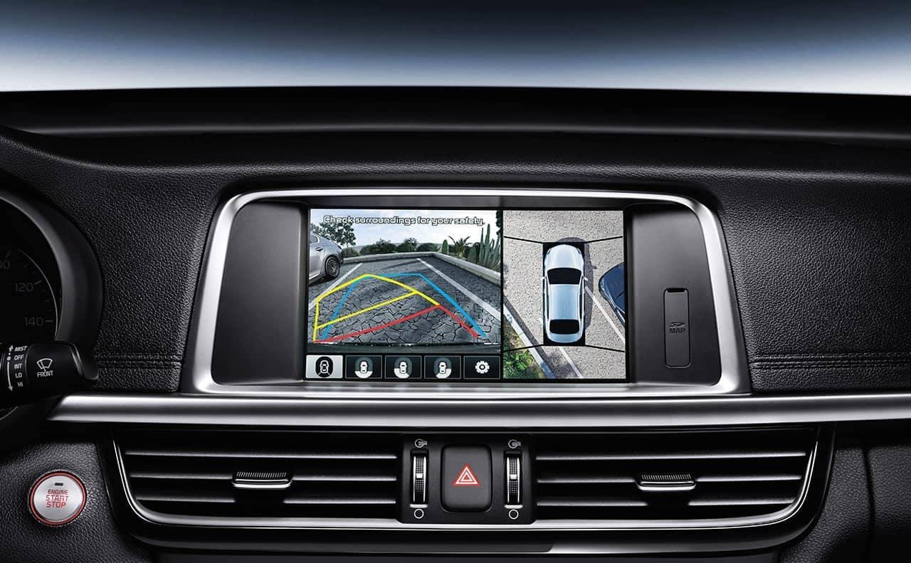 surround view monitor in 2019 Kia Optima