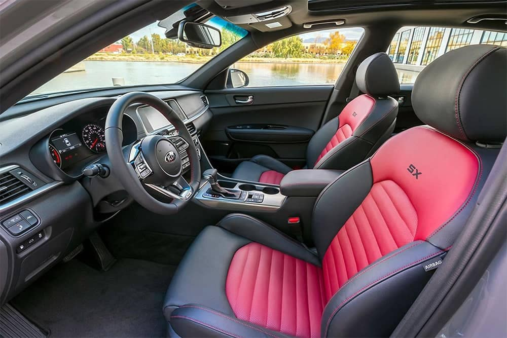 2020 Kia Optima Interior