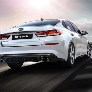 2020 Kia Optima Rear